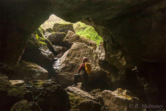 cradle hole boats caving caves of ireland cave photography