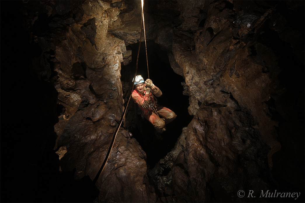 pigeon cave caving caves of ireland cave photography