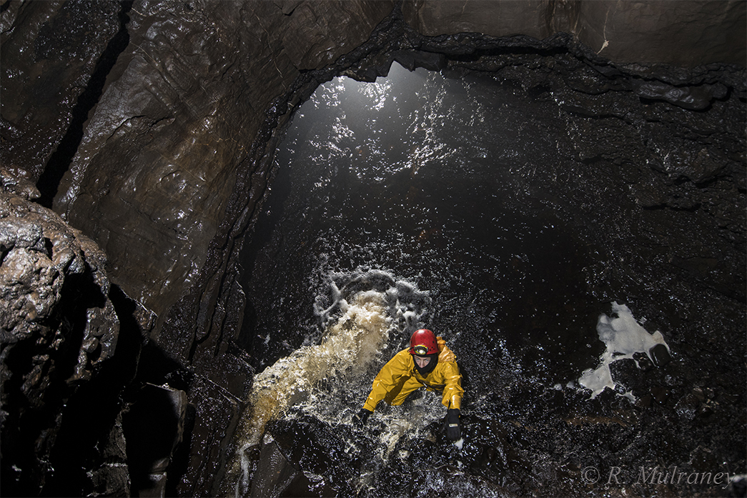 teampall shetric cave boats caving caves of ireland cave photography
